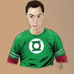 Sheldon Cooper by michi9911