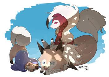 siblings by KitKat-s