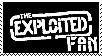 The Exploited Fan Stamp by Vithryl