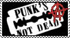 Punk's not dead Stamp by Vithryl