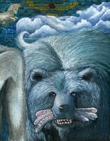 Persian Bear by Xovq
