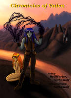 Chronicles of Valen cover - OLD version by GothaWolf