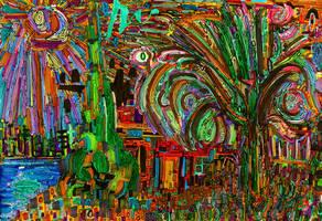 Particles of Landscape by JoshByer