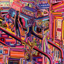 Escalator by JoshByer