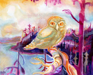 Owl Prince of Tofino by JoshByer