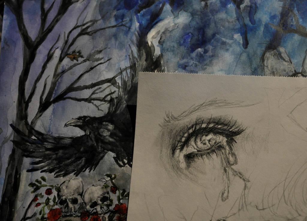Scraps of eye by ElysiumSpectre