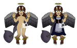 Capri-maid 12 days of Christmas - Open by spotedpelts