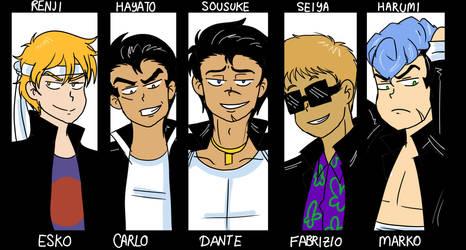 Boys by Ryu-Abel