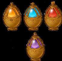Magica: Soul Gems by LilyEyes