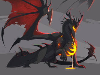 Deathwing- stylized by Tapwing