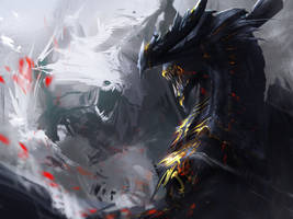 Titan fight by Tapwing