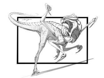 Commission- Gaiaraptor by Tapwing