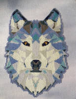 Geometric Wolf by Ammeih