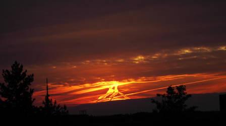 Burning Sky by Aquarior