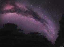 Milky Way by Manuzan