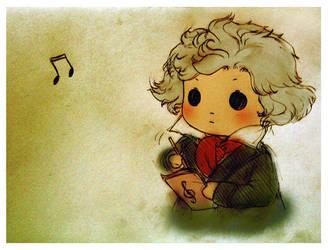 Beethoven by azurecorsair