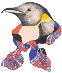 Emperor Penguin by azurecorsair