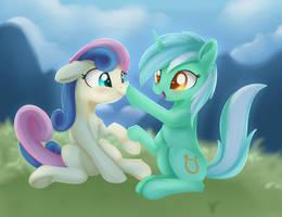 Lyra-Bonbon Boop by Dusthiel