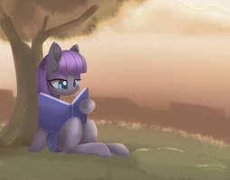 Regular Pony Drawing #19 - Maud Pie by Dusthiel