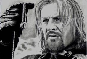Boromir LOTR Sean Bean by Dr-Horrible