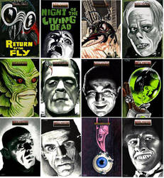 Scifi Horror Poster Series 2 by Dr-Horrible