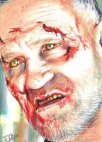 The Walking Dead Merle Walker Sketch by Dr-Horrible