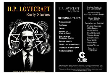 H.P. Lovecraft Early Stories Cover by Dr-Horrible