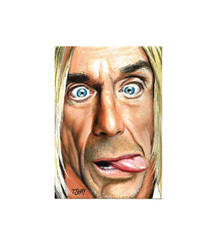 Iggy Pop drawing by Dr-Horrible