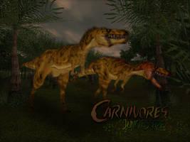 Carnivores Junglescape : Nanotyrannus stalking by Keegz97