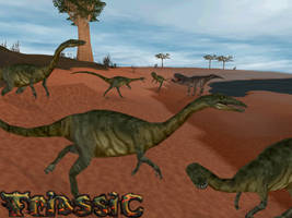 Carnivores Triassic: Coelophysis Posse by Keegz97