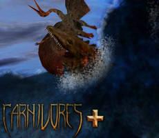 Carnivores plus : Mosasaurus Ambush by Keegz97