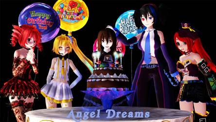 It's my birthday!! by Allique01