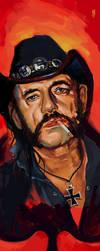 Lemmy portrait by pahapasi