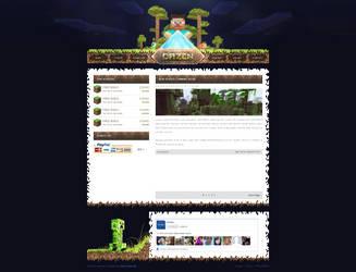 Dazen Minecraft by MrZielsko
