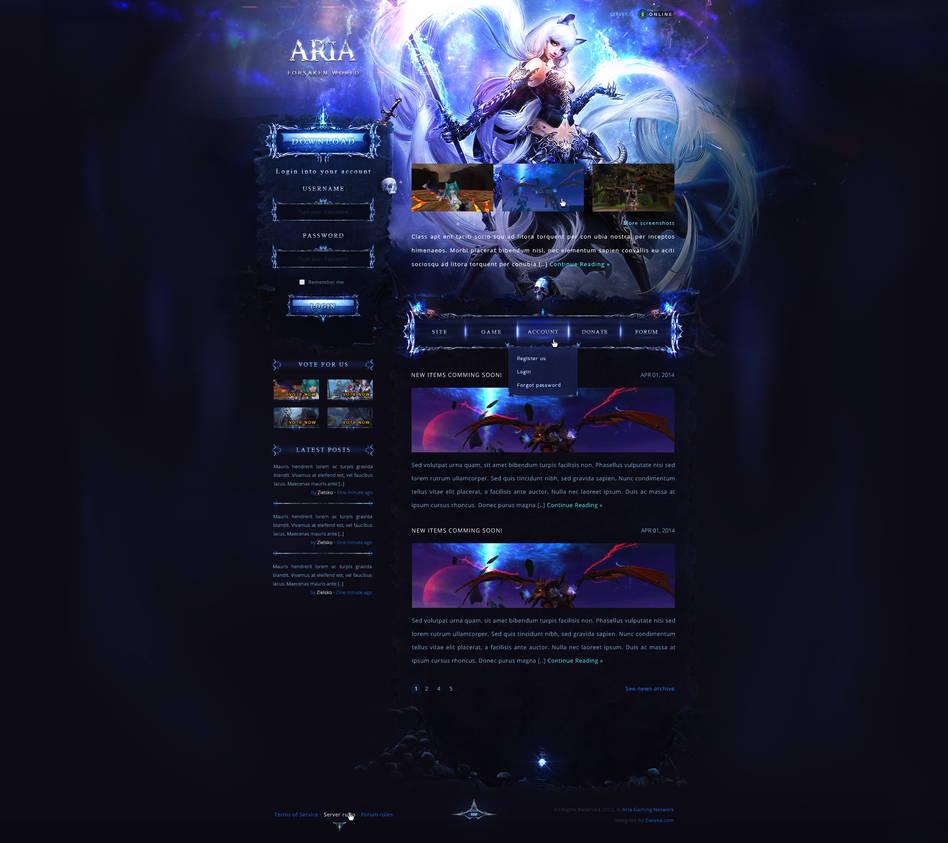 Ariagaming - Forsaken world by MrZielsko
