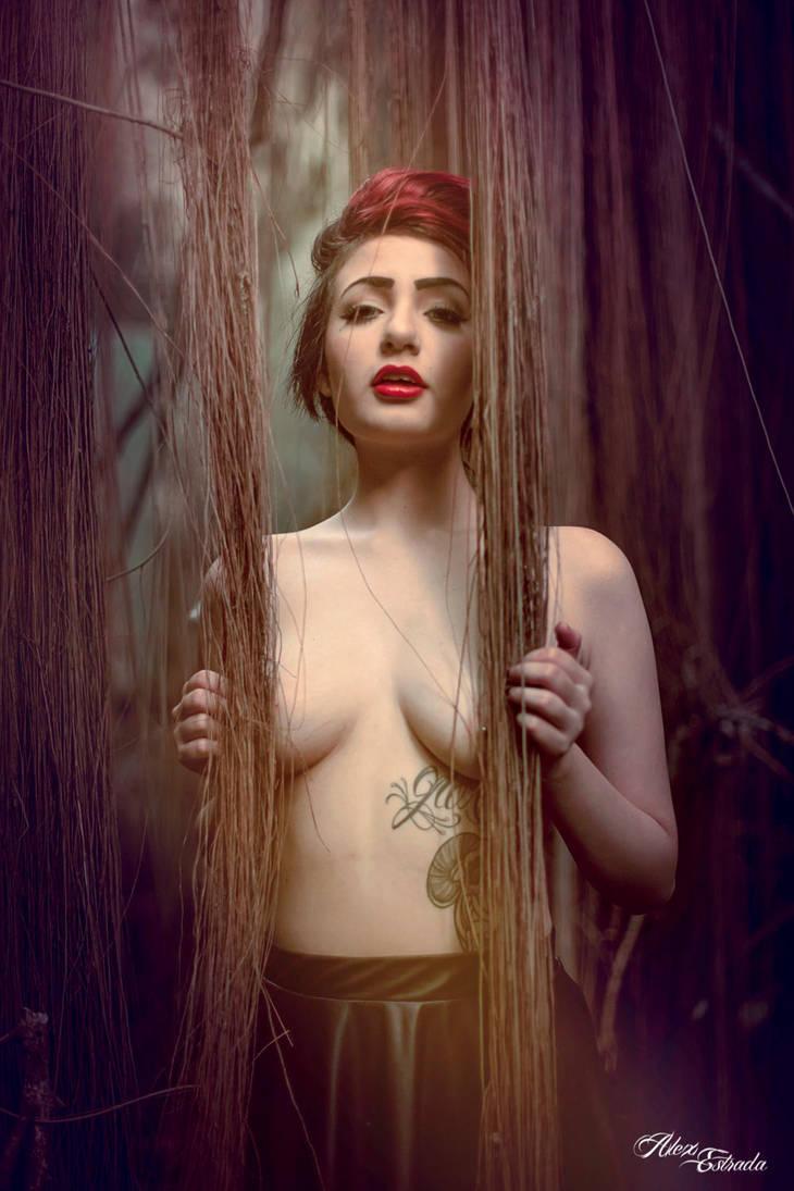 beyond the vines by AlasBlack