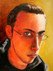 Self Portrait 2 by Jaredr122