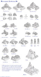 Mississippian Architecture Set - Age of Empires 2 by Kondrikthus