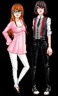 Sigi and Elisa by mariblackheart