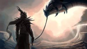 WIP - Dragon Rider by TheSnowDragon