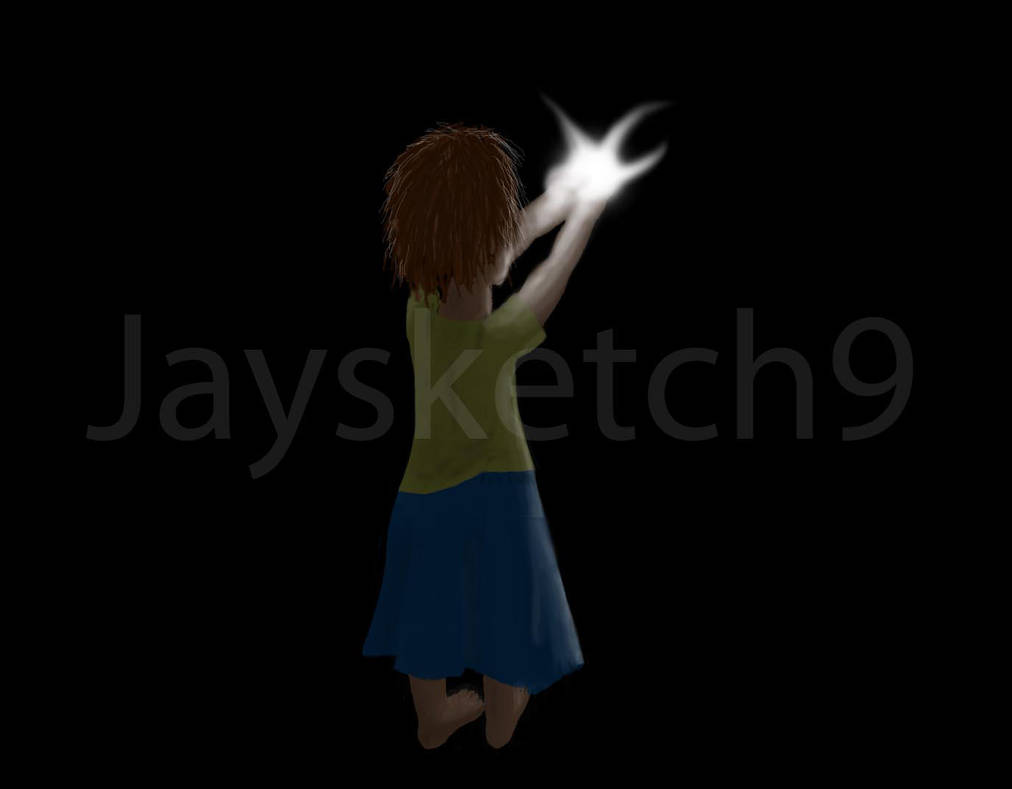 Catching Fireflies By Jaysketch9 On Deviantart