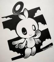 Hero Chao Inktober by Snowsupply