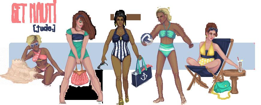 [Jude.] Swimwear Summer 2015 - 'Get Nauti' by Artzygrrl