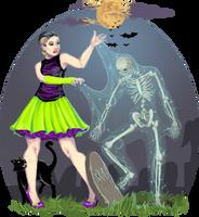Halloween Artistic Vision by Artzygrrl