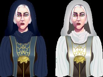 Cait shop order grave cleric by Artzygrrl