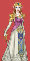 Princess Zelda by bratchny