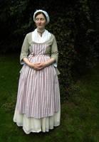 Civil woman 18th century II by Josephine-Marie