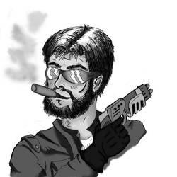 Mercenary by Ghaderal