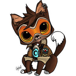 Tracer Cat by Ghaderal