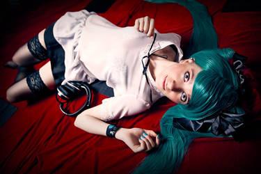 Hatsune Miku (World is mine) cosplay Ytka Matilda by YtkaMatilda